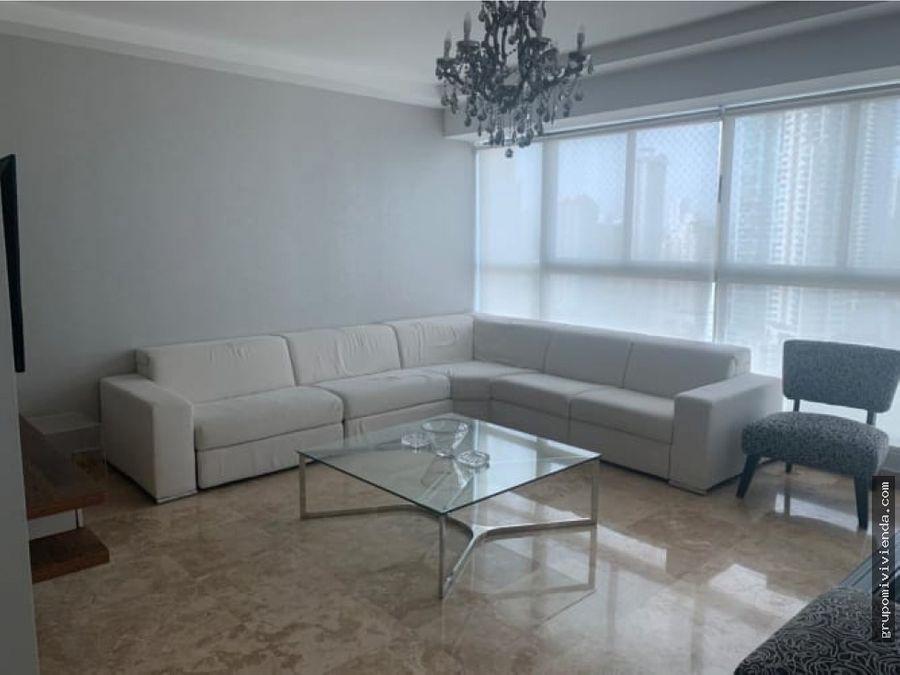bello apartamento en punta pacifica venta