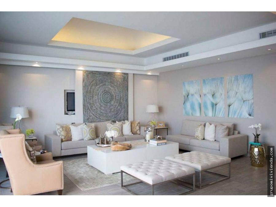 espectacular duplex en venta primera linea costa del este