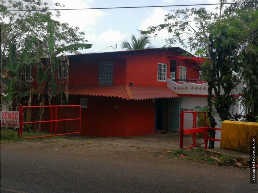 venta casa de playa en buenaventura portobelo