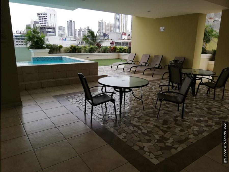 alquiler venta apartamento amoblado en obarrio