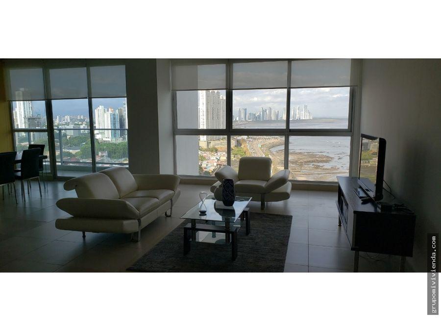 hermoso apartamento amoblado punta pacifica