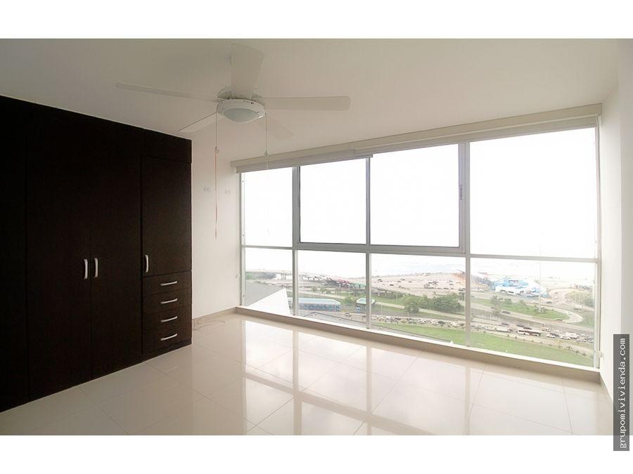 alquiler en san francisco apartamento con linea blanca y aires