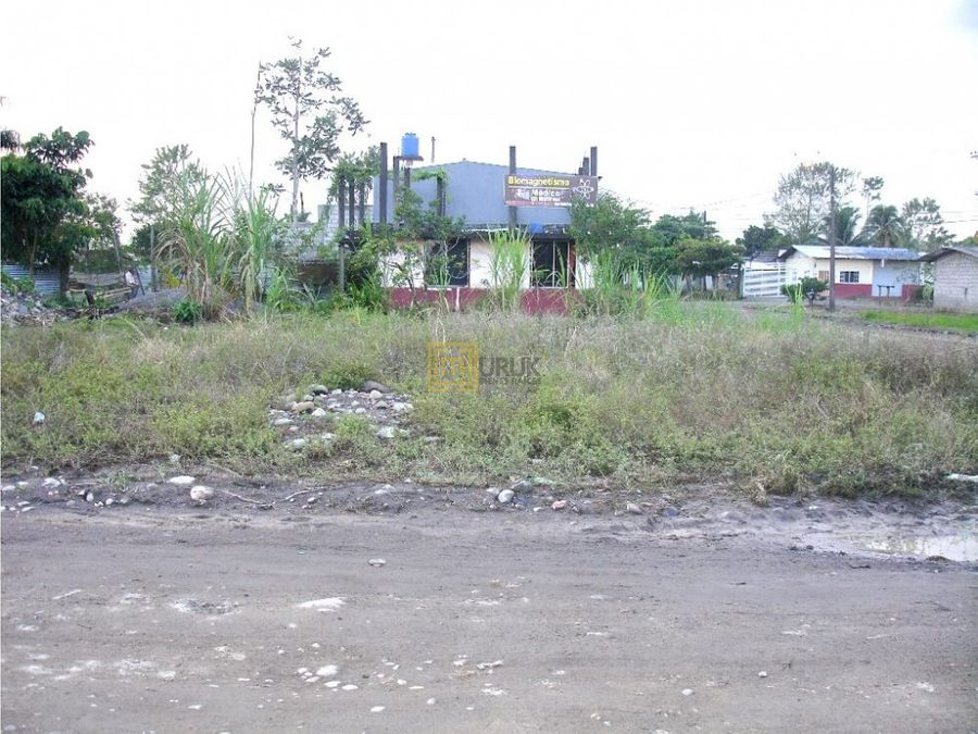 el coca orellanaventaterreno esquinero 354 m2 barrio 27 de octubre