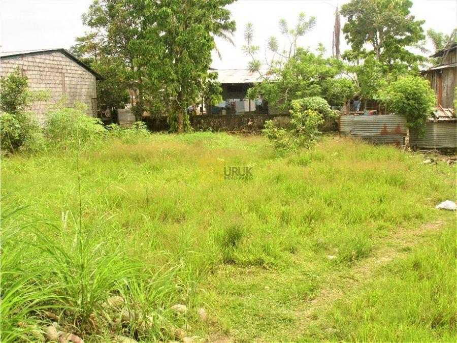el cocaventaterreno de 440 m2barrio turismo ecologico