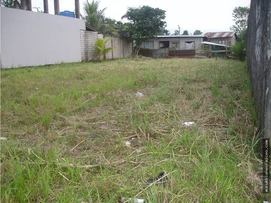 en coca venta terreno de 590 m2 barrio el moretal