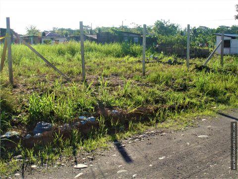 en el coca terreno de 600 m2 barrio t ecologico