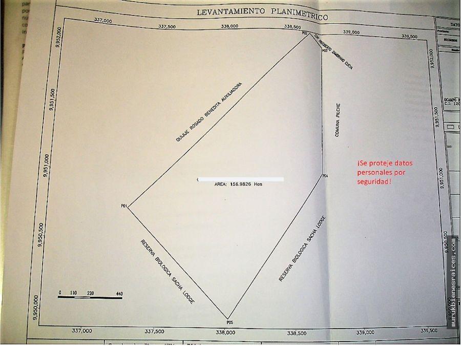 shushufindesucumbiosventafinca157hectareassuperficieplana