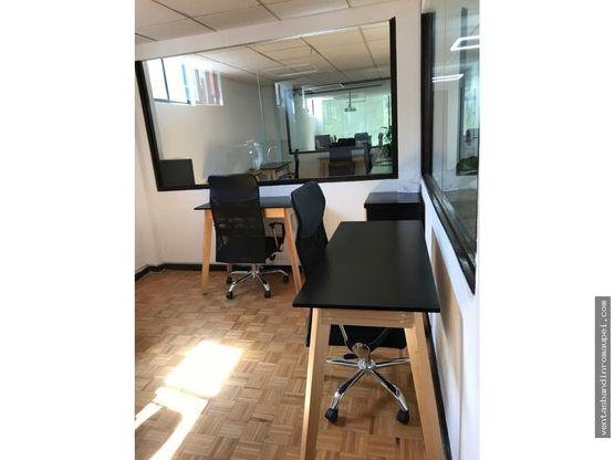 oficina para 4 personas amueblada tiber 100