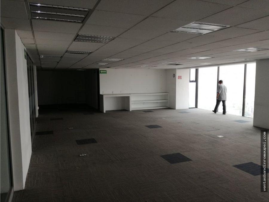 oficina en renta acondicionada en alvaro obregon