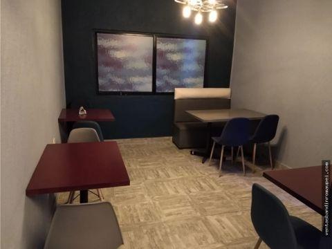 se traspasa excelente local de 104 m2 con mobiliario en polanco