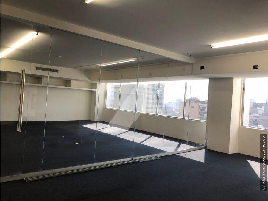 excelente piso de oficina de 750m2 reforma