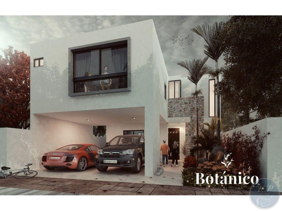 casa 3 habitaciones y piscina preventa en privada botanico modelo 179