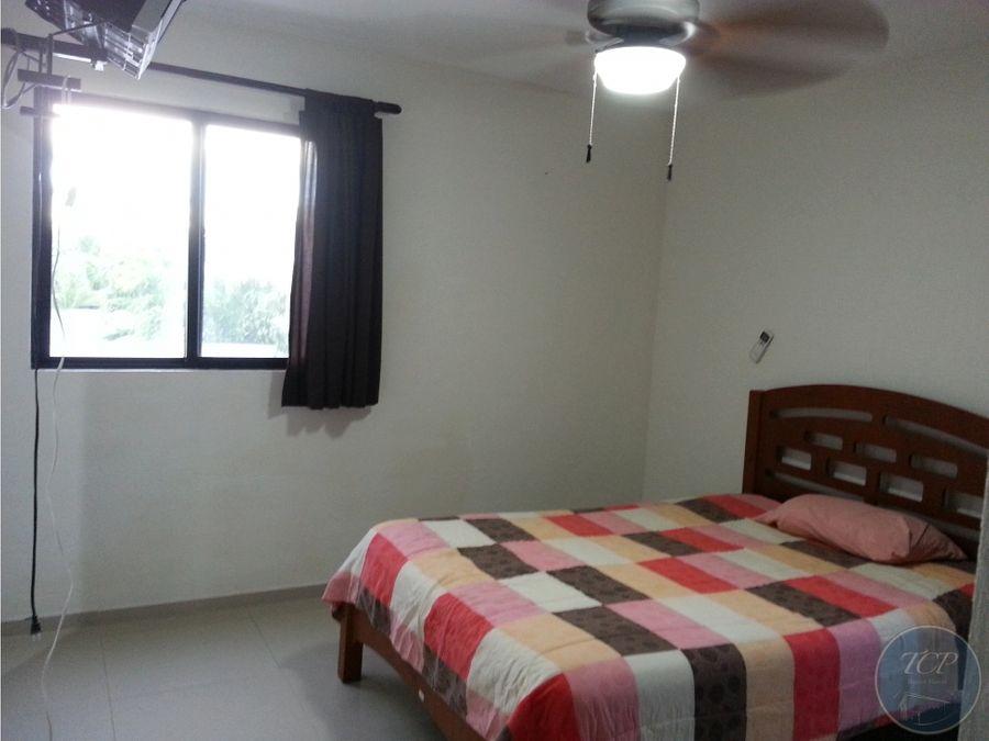 departamento amueblado 2 habitaciones montecristo