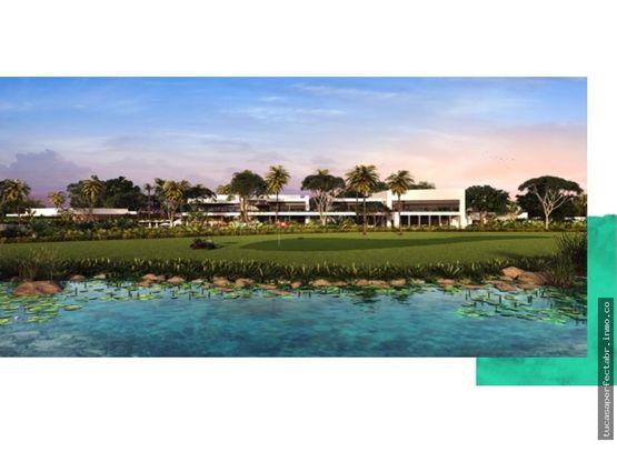 lotes residenciales premium en campo de golf
