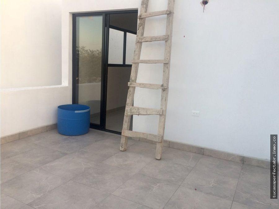 residencia en dzitya de 3 hab y alberca