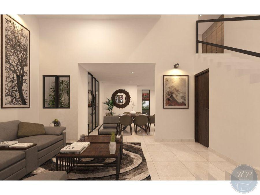 casa 3 habitaciones y alberca priv residencial amaranto mod 333