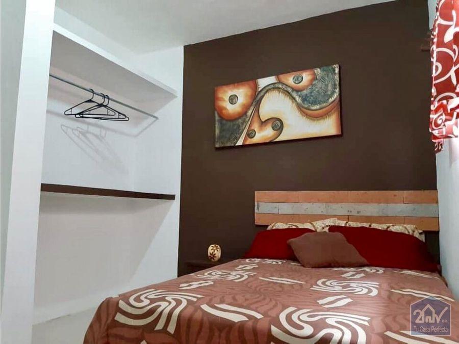 depto amueblado con 2 habitaciones en altabrisa