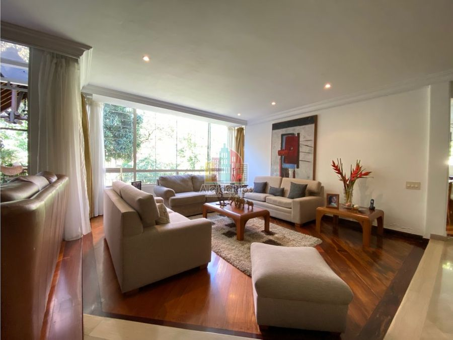 vendo casa incomparable sector poblado medellin