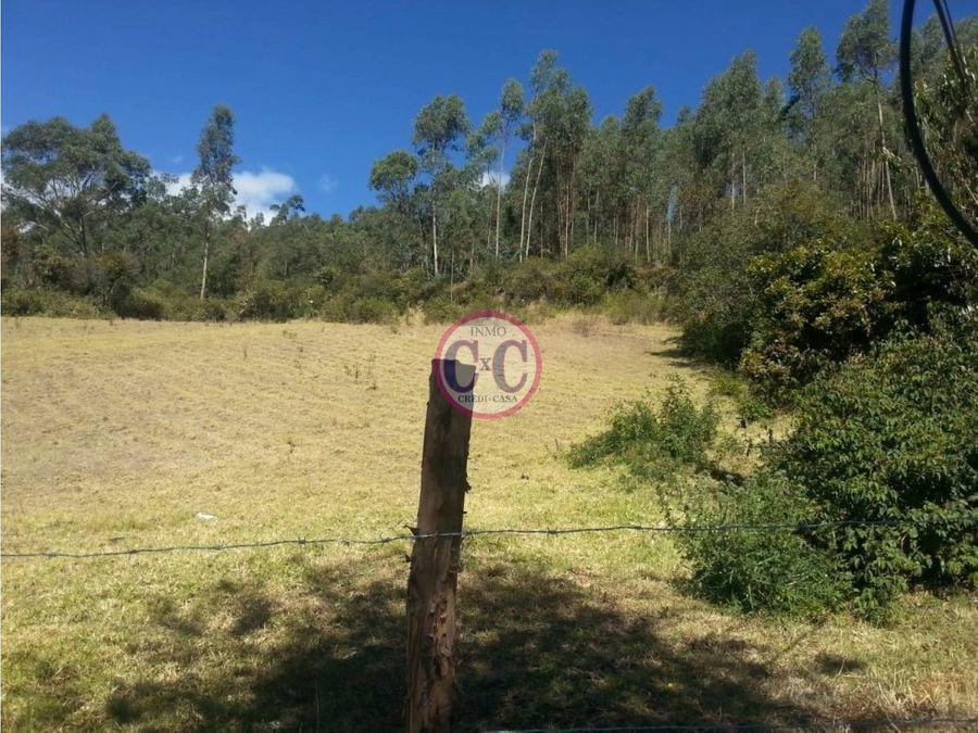 cxc venta terreno uyumbicho exp 10003