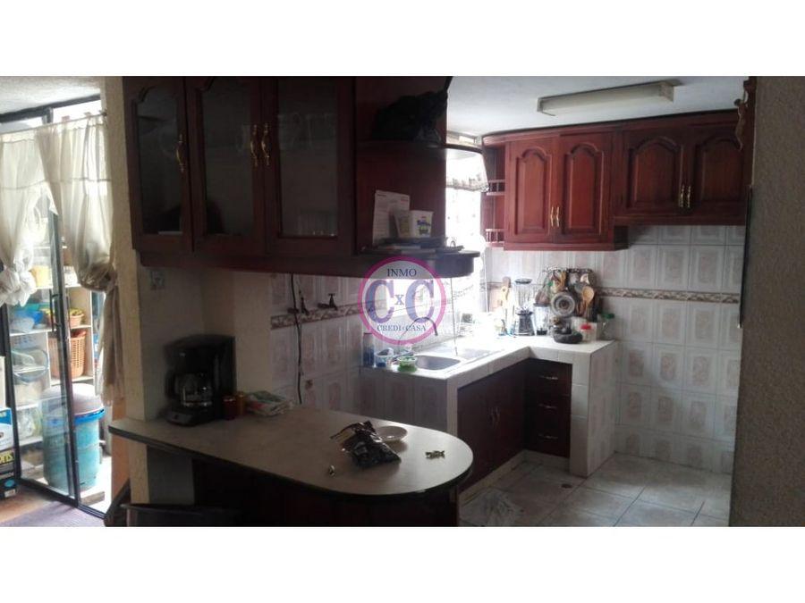 cxc venta casa en conjunto carapungo exp 2431