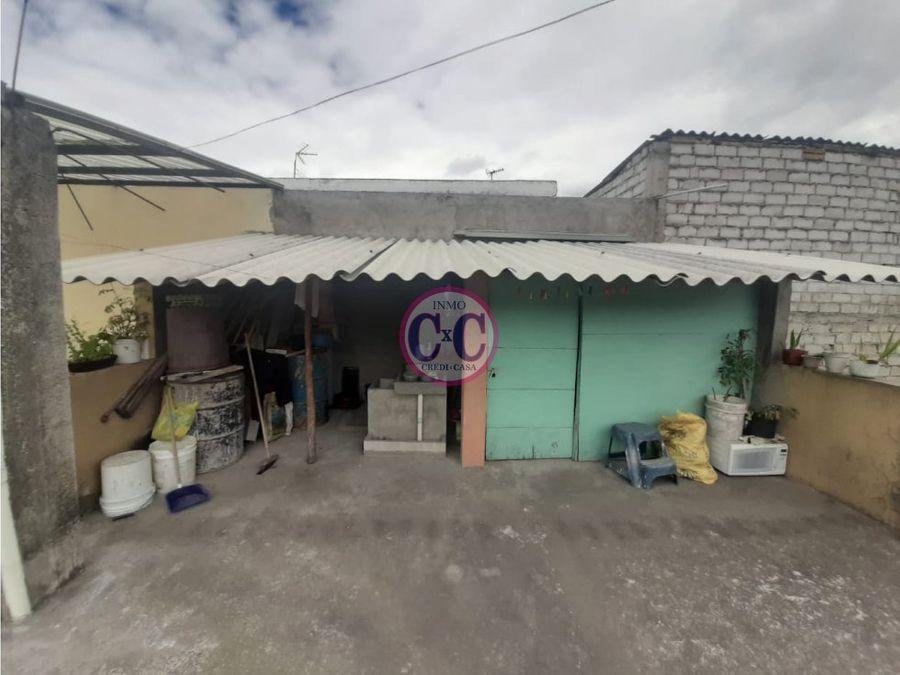 cxc venta casa rentera cdla ibarra exp 3617