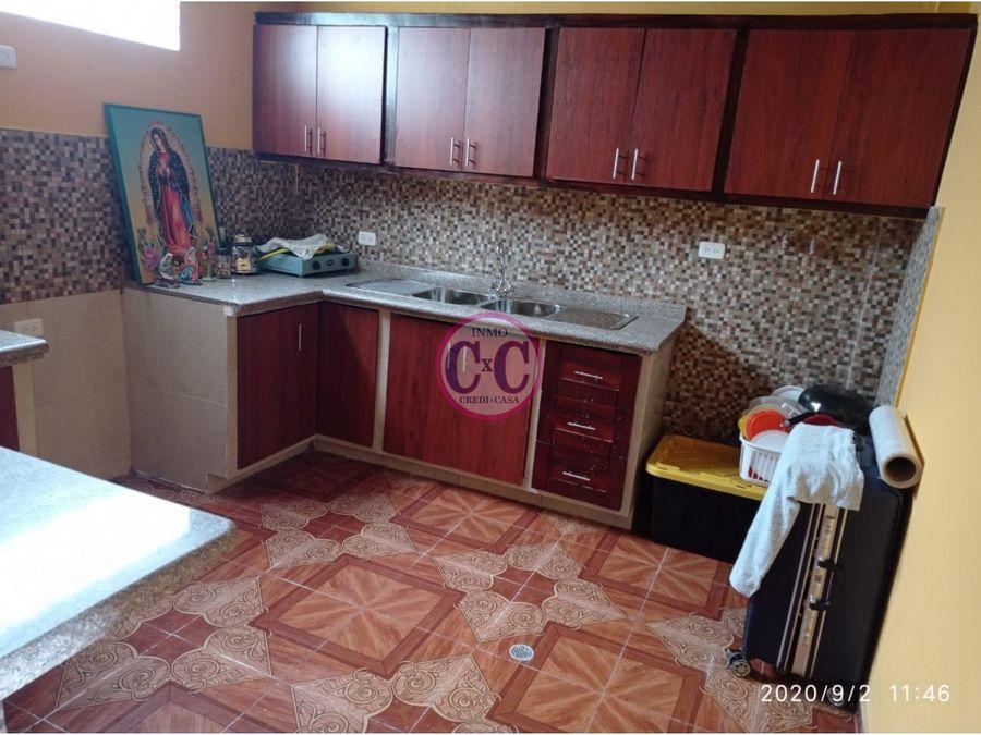 cxc venta casa el garrochal exp 3643