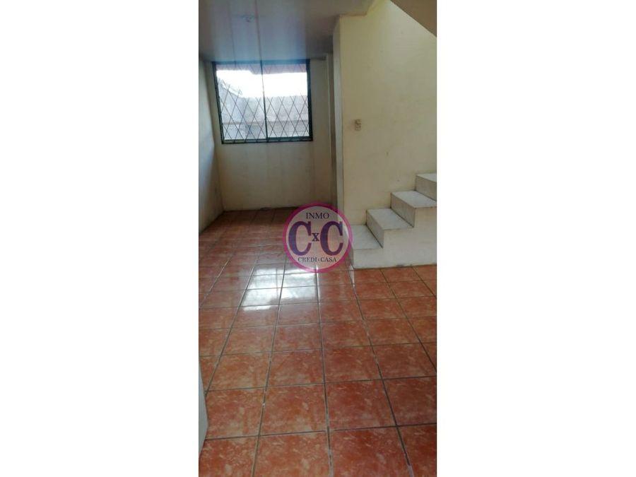 cxc venta casa duplex calderon exp 2531