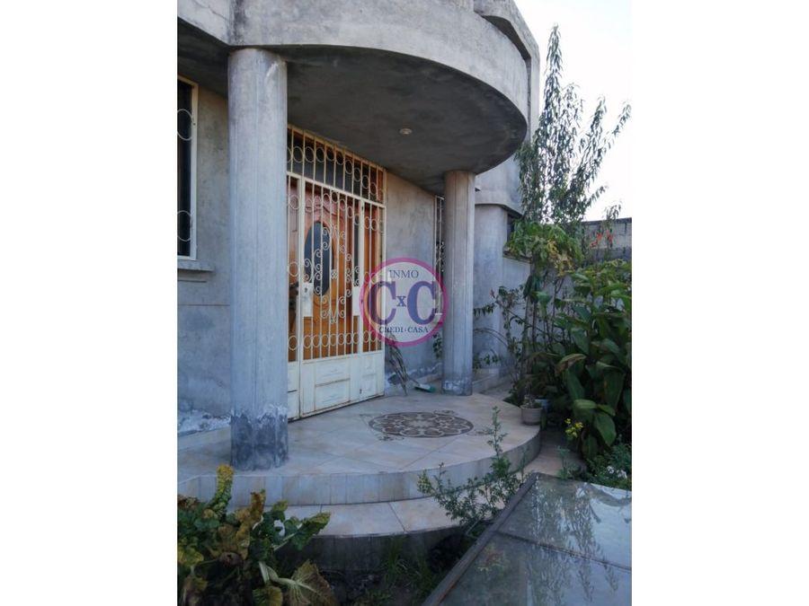 cxc venta casa guamani exp3470