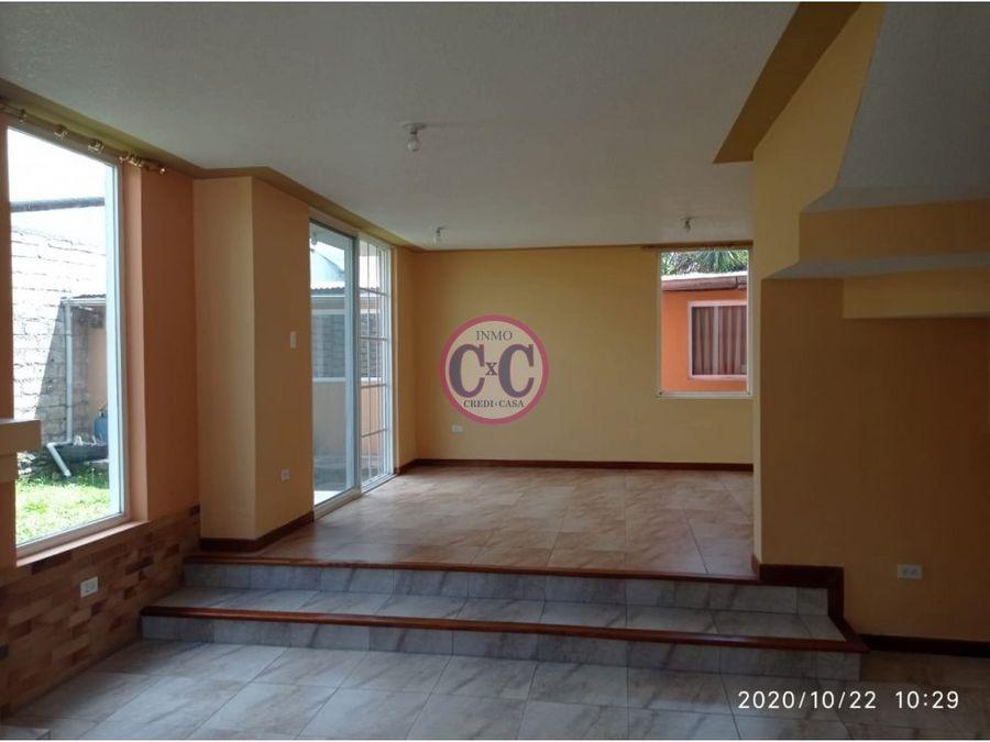 cxc venta casa mini departamento la espe exp 4179