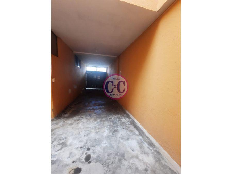 cxc venta casa rentera guamani bajo exp 3737