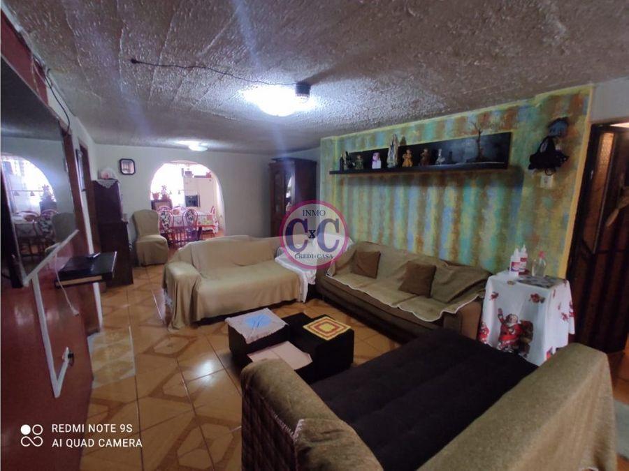 cxc venta casa rentera 2 locales chillogallo exp 3654