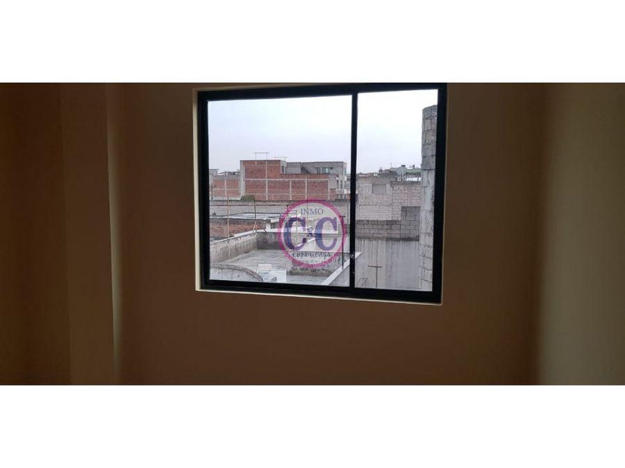 cxc venta departamento turubamba exp3414