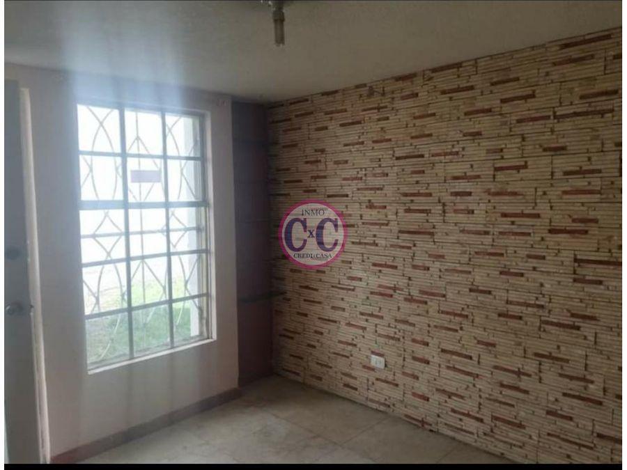 cxc venta casa en conjunto guamani exp 3716