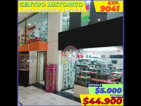 cxc venta local comercial centro historico exp 9041
