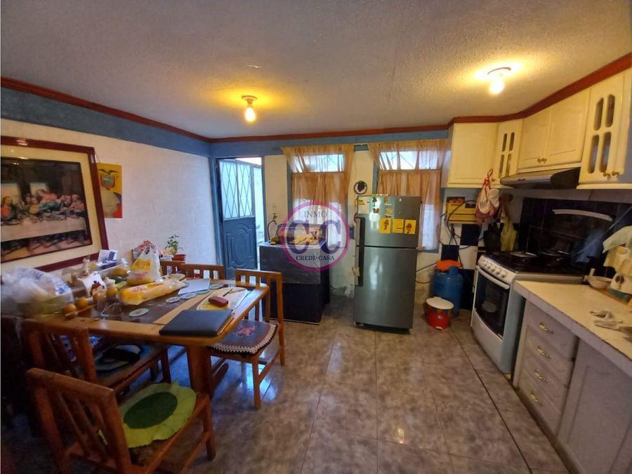 cxc venta casa en conjunto carapungo exp 2580
