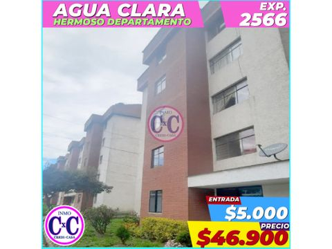 cxc venta departamento agua clara exp 2566