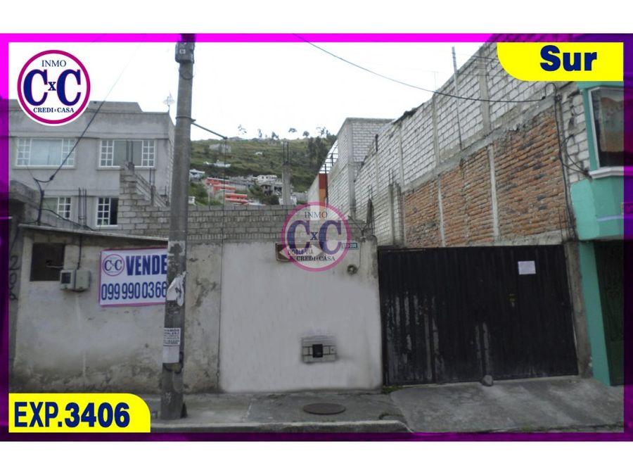cxc venta casa chillogallo exp3406