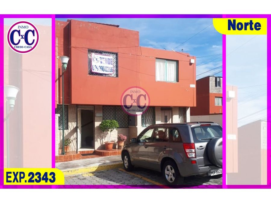 cxc venta casa sierra hermosa exp2343