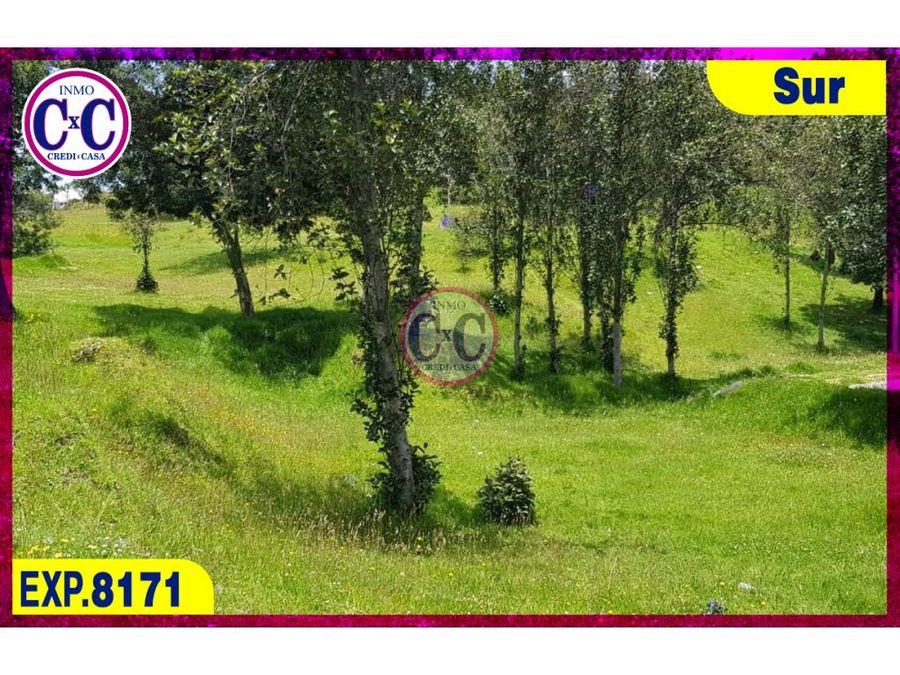 cxc venta de terreno cutuglagua exp8171