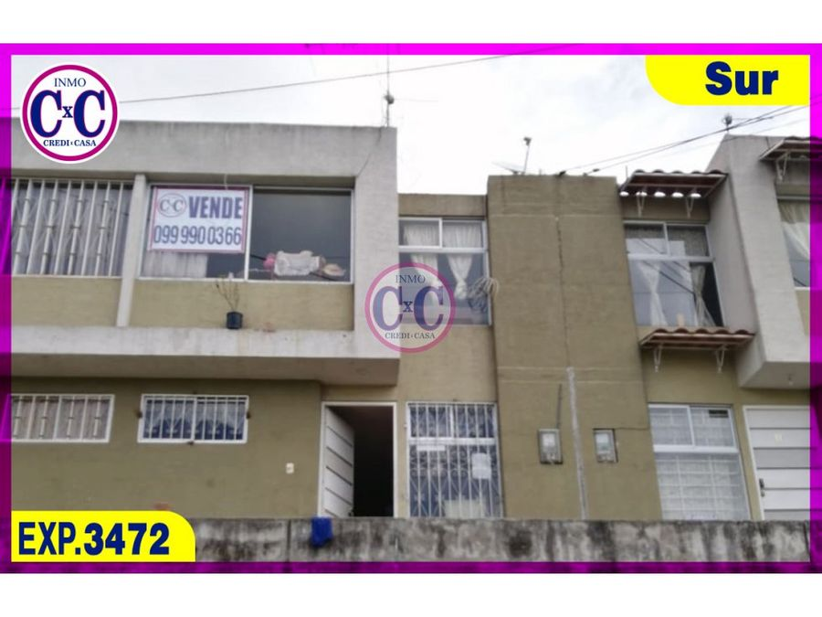 cxc venta casa cutuglagua exp 3472