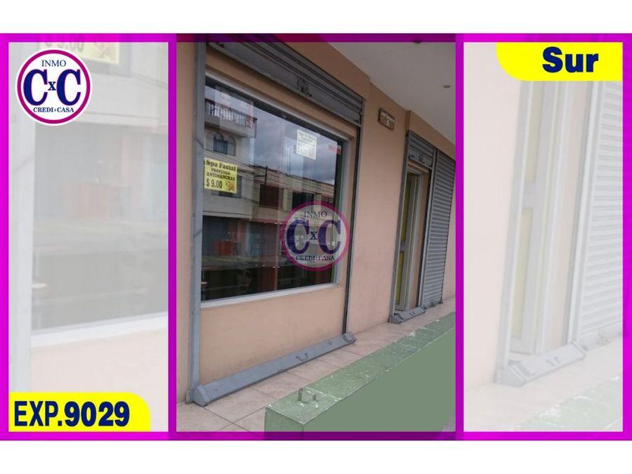 cxc venta local comercial guamani alto exp 9029