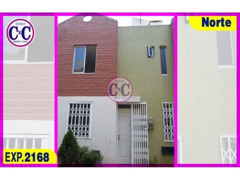 cxc venta casa en conjunto calderon exp 2168