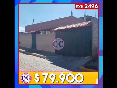 cxc venta casa terreno san jose de moran exp 2496