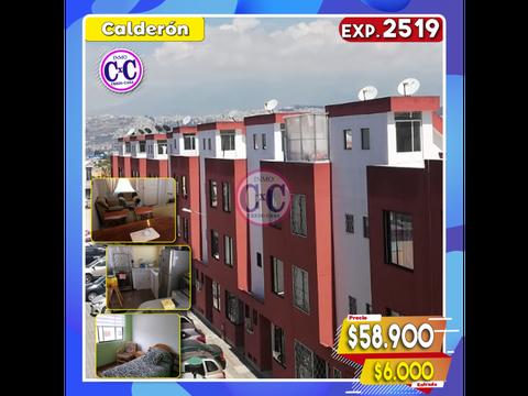 cxc venta casa en conjunto calderon exp 2519