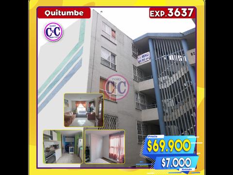 cxc venta departamento quitumbe exp 3637