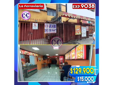 cxc venta de local comercial mini dpto exp 9038