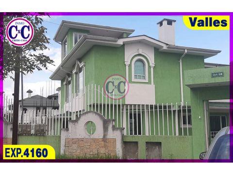 cxc venta casa independiente conocoto exp 4160