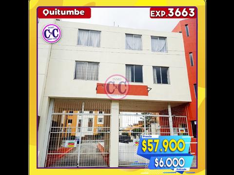 cxc venta departamento duplex quitumbe exp 3663