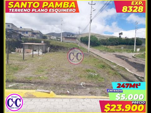 cxc venta de terreno santo pamba exp 8328