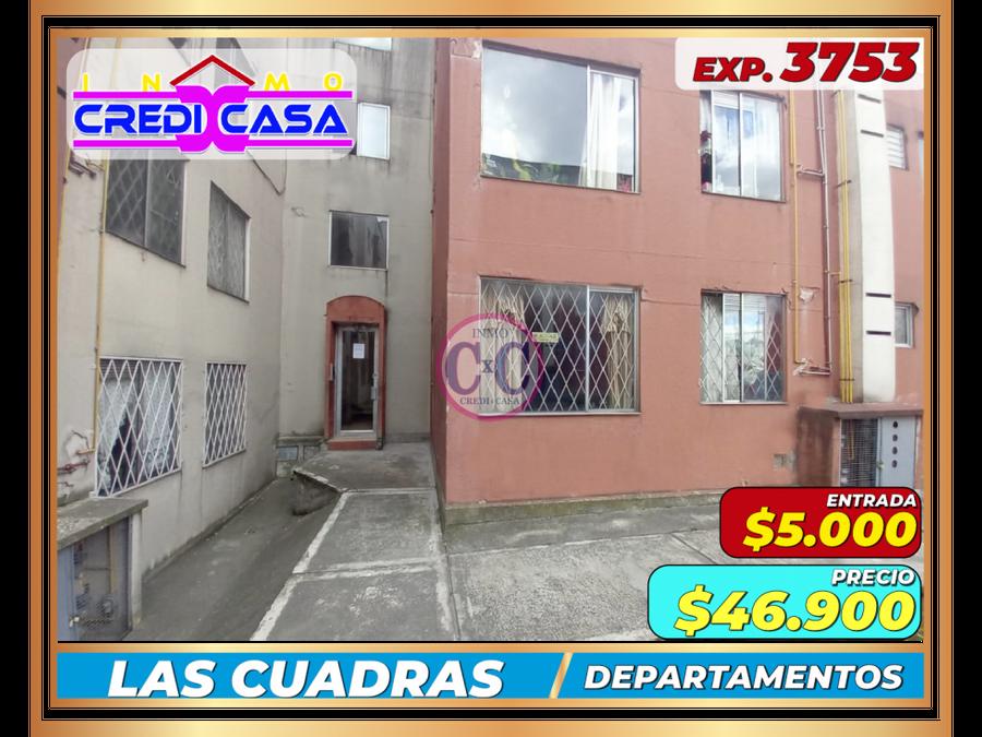 cxc venta departamento las cuadras exp 3753